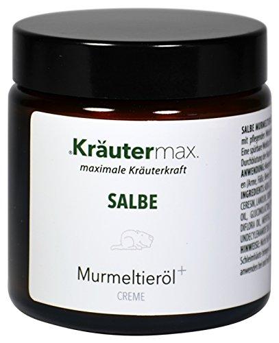 Murmeltieröl Salbe Balsam mit Murmeltier Latschenkiefer als Creme 1 x 100 ml