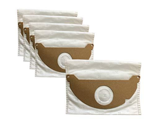 Bolsas de repuesto para aspiradora Karcher, WD2250, WD2200, A2004, A2054, A2024, MV2, paquete de 5 unidades