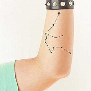 Acquario - Tatuaggio temporaneo (Set di 2)