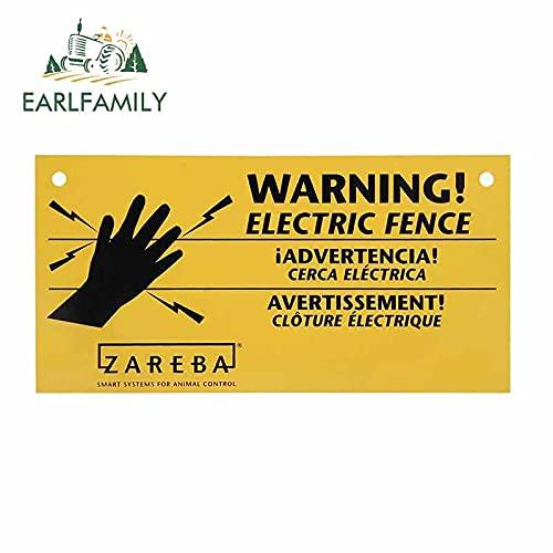 A/X 13 cm 6,6 cm para Zareba, Cerca eléctrica, señal de Advertencia,...