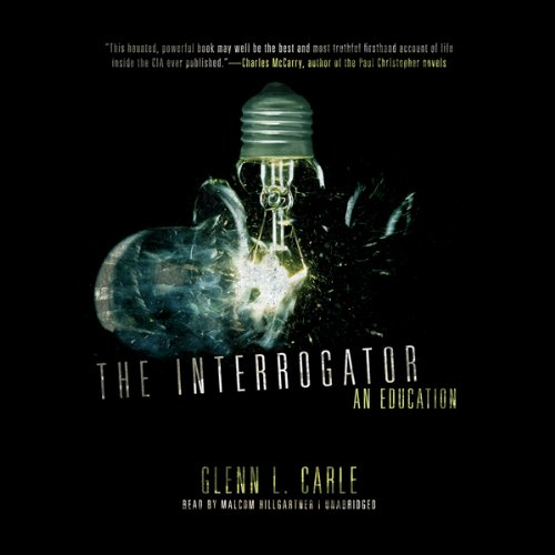The Interrogator audiobook cover art