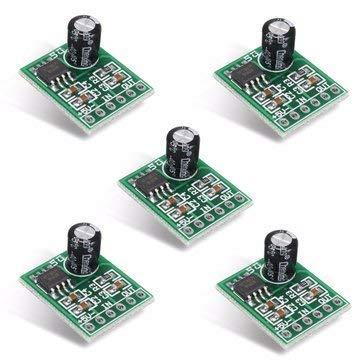 ICQUANZX 5Pcs XPT8871 5V 5W 1A Placa Amplificador