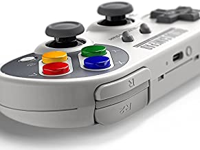 8Bitdo SF30 Pro Bluetooth Gamepad Controller for Android/Windows/Mac OS/Nintendo Switch (SF30 PRO)