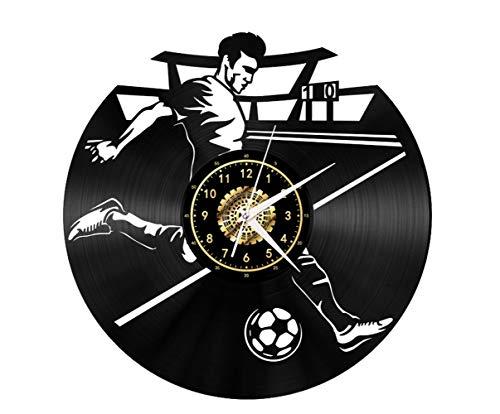 Ballsport Vinyl Record Wanduhr, LED Wandleuchten, Nachtlicht, Wandleuchte, handgemachtes Dekor Die Beste Geschenkidee