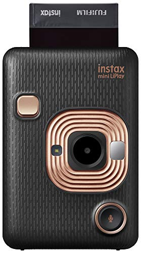 Câmera Instantânea Instax Liplay Hybrid Instant - Black