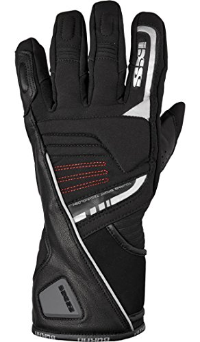 IXS Motorradhandschuhe lang Motorrad Handschuh X-Handschuh Buran schwarz XL, Herren, Tourer, Winter, Leder/Textil