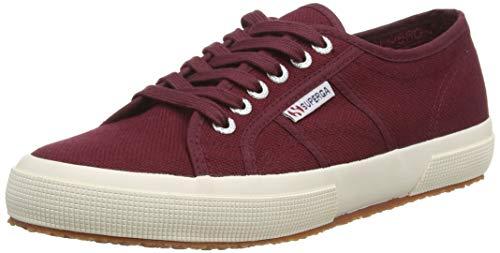 Superga 2750 Cotu Classic, Unisex-Erwachsene Sneaker, Rot (Dark Boredeaux), 36 EU (3.5 UK)