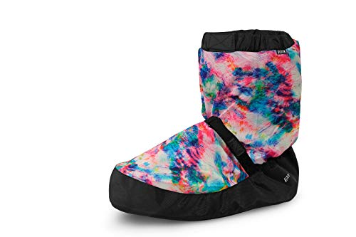 Bloch Adult Unisex Women's Warm Up Dance Booties Boots Limited Edition Tie Dye Blue (Numeric_3)