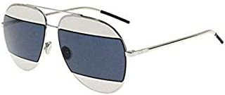 New Christian Dior SPLIT 1 010/KU palladium/palladium grey blue Sunglasses