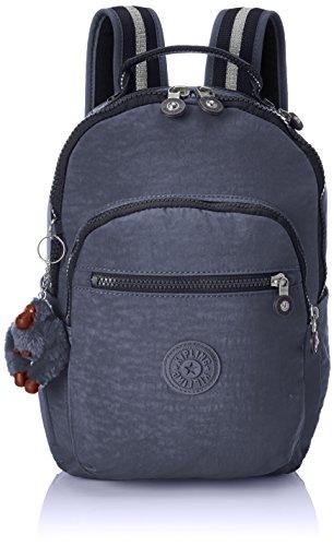 Kipling Seoul Go, Large backpack, 44 cm, 20 liters, Blue (True Jeans)