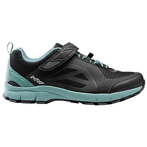 Northwave Escape Evo MTB Trekking Fahrrad Schuhe schwarz/blau 2021: Größe: 45