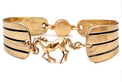 Wild Horse - Pulsera con Cierre magnético