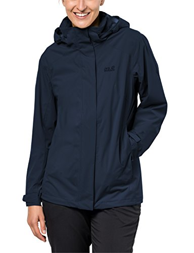 Jack Wolfskin Alpine, wetterfeste Damen-Jacke, Highland Women XXL Midnight Blue