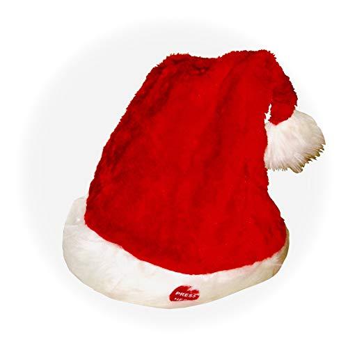 Unbekannt Musik Weihnachtsmütze Zipfelmütze Weihnachten Bommel Mütze