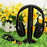 SLB Works Brand New High Quality 5 in 1 Wireless Headphone Black