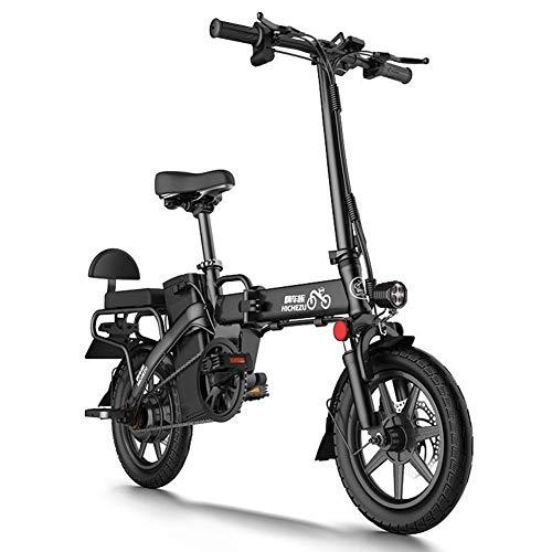ZBB Bicicletas eléctricas, con Pedales Batería extraíble de Iones de Litio de...