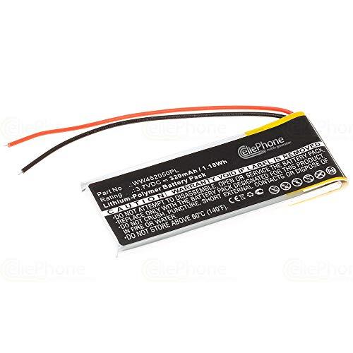 cellePhone Akku Li-Polymer kompatibel mit Cardo Q1 / Q2 (Ersatz für WW452050PL_C)