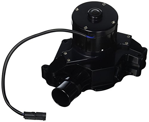 Meziere WP311S Black Billet Hi-Flow Electric Water Pump for Small Block Ford