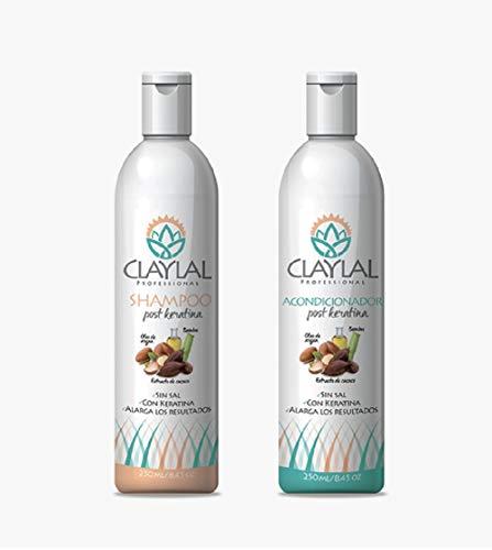 Shampoos Sin Sulfatos Ni Sal marca Clayla´l Professional