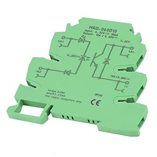 Relé, con indicador de estado de entrada LED Relé de estado sólido, para amplificación de interruptor de acoplamiento Controlador PLC y actuadores