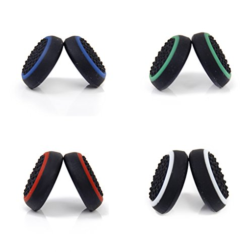 #N/A 2X Ersatz Joystick Kappen Für Die Daumen Kappe des Controllers Für Xbox One / 360 - Black+White