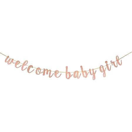 Baby Shower Gender Reveal Sign GOLDLetter Garland PREGNANT AF Banner