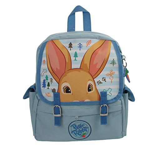 Peter Rabbit Infantil Azul taleguilla Mochila