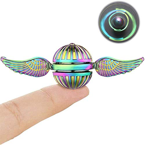 Premium Fidget Spinners Metal Hand Finger Spinner Gifts for Adults Kids Stress Anxiety ADHD Relief Desk Toy figit Spinner Professional Bearing With Case Party Favors Supplies For Christmas Birthday