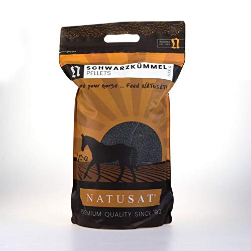 Natusat Schwarzkümmel Pellets 5 kg - Für Pferde - Huster