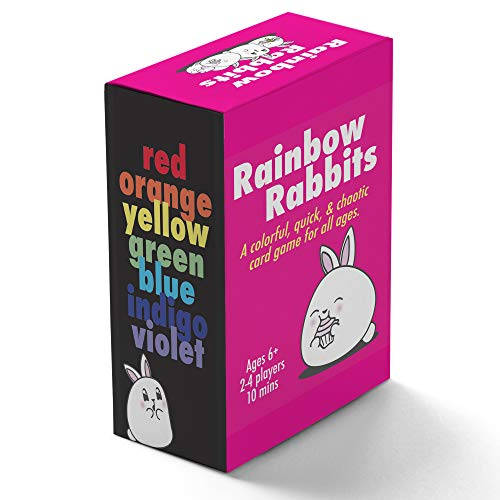 Rainbow Rabbits  A Fast and Fun Family Card Game  Compete to be The Fastest Rainbow Builder of Them All