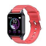 ZXQZ Watches Smartwatch, 1,3' Touchscreen-Smartwatch mit Herzfrequenzmesser, wasserdichte IP67...