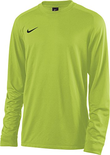 Nike Herren Goalkeeper Jersey Park II Longsleeve, Electric Green/Black, M