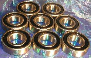 8 Bearing 6205-2RS 2021 model 25x52x15 Bearings Ball Sealed High quality
