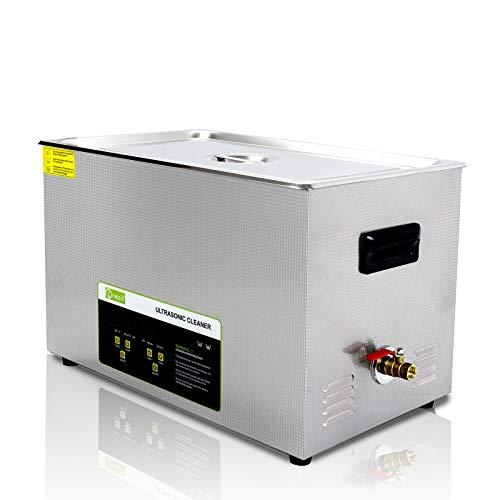 30Lデジタル操作パネルプロフェッショナル商用超音波洗浄機、バスケット&タイマーデジタル、大型回路基板、金属部品、タトゥー機器、ツール、ジュエリー、眼鏡、時計の洗浄用