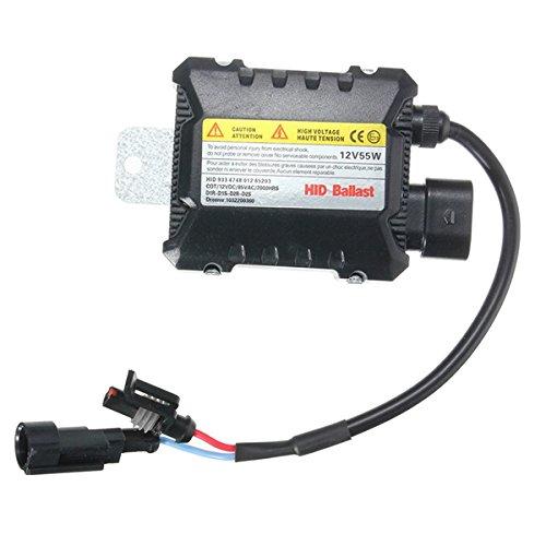 AAlamor 12V 55W O 35W Slim Car Xenon Hid Ballast Impermeable para H1 H3 H3C H4-1 H4-2 H7 H8 9005 9006-55W