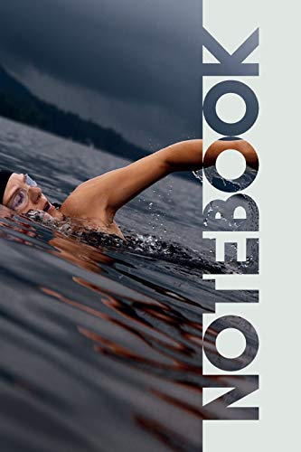 Notebook: Open Water Swimming Elegant Composition Book for Triathlon Coaching