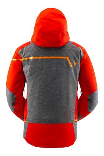 Spyder Men's Titan Gore-Tex Ski Jacket – Male Full-Zip Hooded Winter Coat