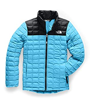 The North Face Girls  Thermoball Eco Jacket Turquoise Blue X-Large