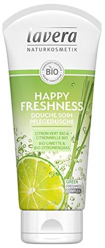 Lava Happy Freshness Duschgel mit pflanzlichen Inhaltsstoffen, Bio, 100% natürlich