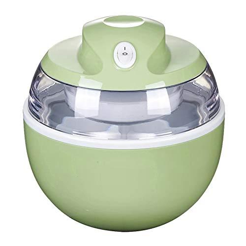 Home Ice Cream Maker,Mini Portable DIY Make Delicious Ice Cream Sorbets and Frozen Yogurt Maker,for Make Original Healthy Dessert Ice Cream Machine Best Gift (White)