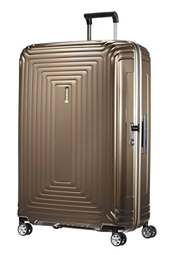 Samsonite Neopulse - Spinner XL Koffer, 81 cm, 124 L, braun (Metallic Sand)