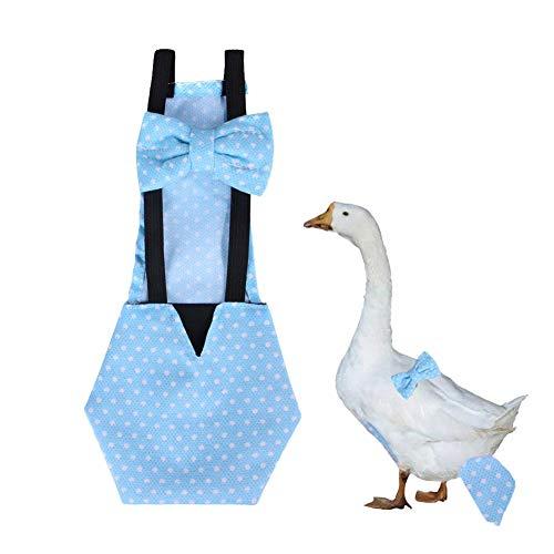 Envisioni Pañal en forma de V para aves de corral, pañal de pollo, pollo, pato, gallina, palomas y aves de corral, pañal para gallina