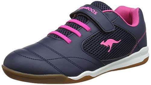 KangaROOS Herren Incourt EV Sneaker, Blau (Dk Navy/Daisy Pink 4204), 39 EU