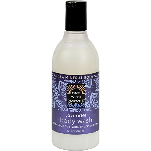 One With Nature Dead Sea Mineral Body Wash Lavender - 12 fl oz by One With Nature