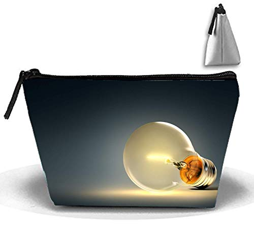Waterdrops, neceser de cosméticos Crazy Young Trapezoidal Strorege bolsa creativa para cosméticos