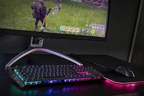 Cooler Master CK552 Gaming Mechanical Keyboard W/Gateron Red Switch with RGB Back Lighting - Pure Black