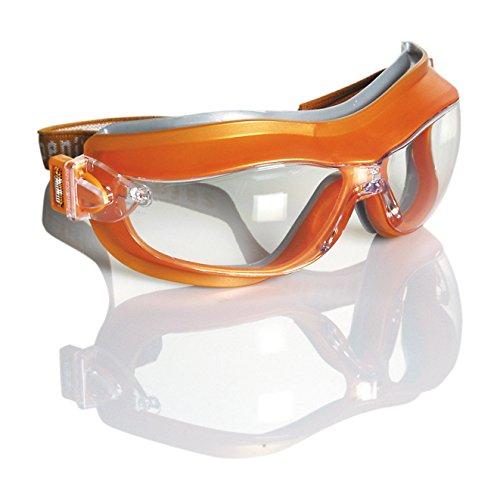 Safetop 10490 - Phoenix. gafas anti-vaho. banda ajustable oc.claro. m.nrja. 🔥