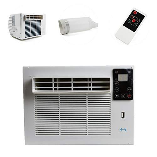 1100W 220V 17-35°C Tragbare Klimaanlage Mobile Fenster Luftkühler Klimagerät Kühlanlage Luftbefeuchter Kühlrohr Kühler+Fernbedienung Neu