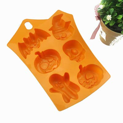 Christmas Silicone Baking Molds Nonstick Cake Pan with Thanksgiving Pumpkin- Perfect to Make Pudding, Ice Cube, Chocolate, Cupcakes, Lilopp