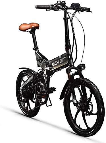 Rich bit ZDC RT-730 LCD E-Bike Plegable Bicicleta eléctrica de 20 Pulgadas...